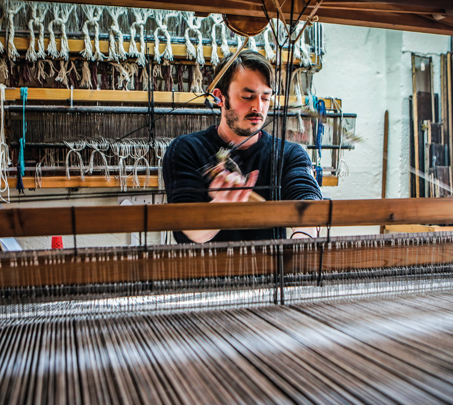 Weaver- Mourne Textiles Killowen Co Down - IRELAND