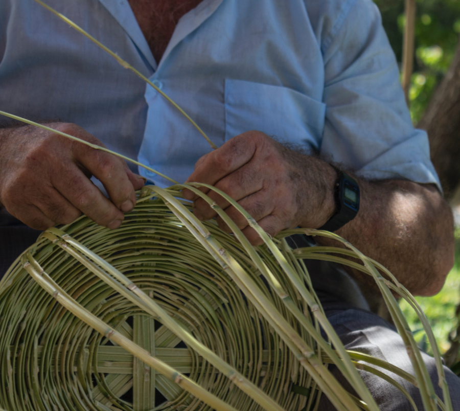 Basketing weaving - Instituto Andaluz del Patrimonio Histórico - Gañán Álvarez, Víctor – Andalusia, Spain
